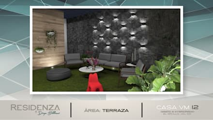 Jardines zen de estilo  por Residenza by Diego Bibbiani