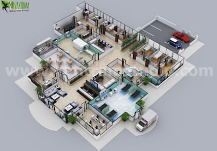 Hospital Floor Plan Concept Design By Yantram Floor Plan Designer Brussels:  Hospitals by Architectural Design Studio