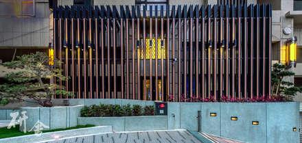 新北-合新大河公園:  牆壁與地板 by 研舍設計股份有限公司