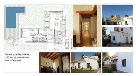 Single family home by Amparo Ruiz Arquitecto