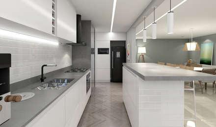 Cozinha: Cozinhas minimalistas por RAFE Arquitetura e Design