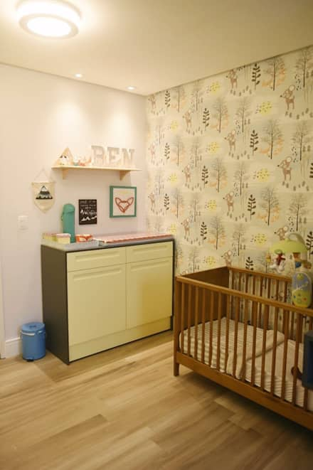 Habitaciones de bebé de estilo  de Lorena Porto - Arquitetura e Interiores