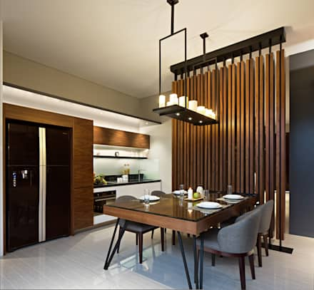 Dining Room:  Ruang Makan by INERRE Interior