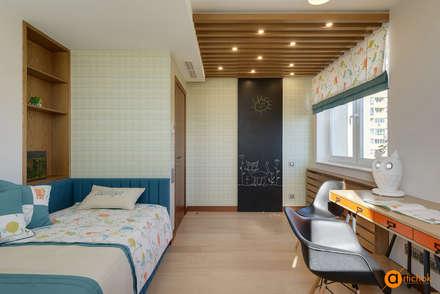 Комната для девочки в стиле прованс и лофт: Спальни для девочек в . Автор – Art-i-Chok