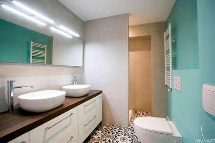 BAÑO DORMITORIO MATRIMONIO: Baños de estilo ecléctico de NUVART