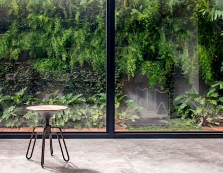 Jardines zen de estilo  por Estúdio HAA!