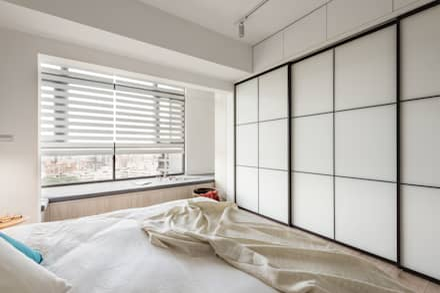 scandinavian Bedroom by 寓子設計