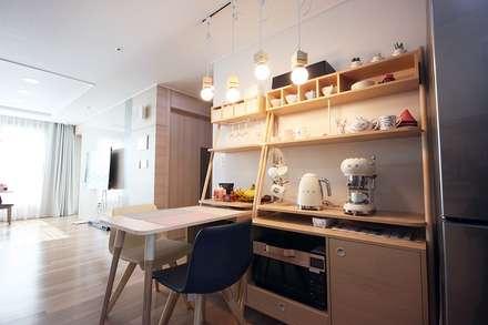 scandinavian Kitchen by homelatte