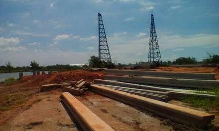 โรงงาน ไทยมีโก้ หน่วยงานพันท้ายฯ:  อาคารสำนักงาน by บริษัท โอเบ เอ็นจิเนียริ่ง จำกัด