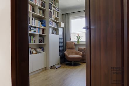 Oficinas de estilo colonial por Perfect Space