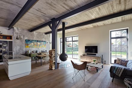 Haus I Industriale Wohnzimmer Von Lioba Schneider