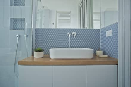 bagno moderno: idee & ispirazioni | homify - Placcaggi Bagni Moderni