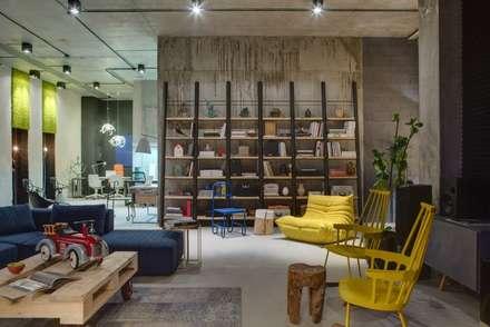 Dizapp Office - Moss wall decor by Moss Trend: modern Study/office by Moss Trend