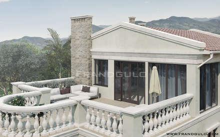 Nhà có sân thượng by Frandgulo