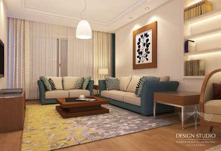 أفكار تصميم غرف المعيشة والإلهام | هوميفاي