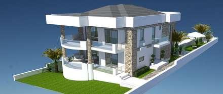 Detay yapı dekorasyon – Yen'i projemiz:  tarz Müstakil ev