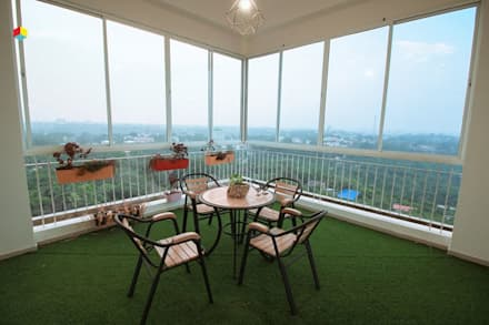 Terrace by Rubenius