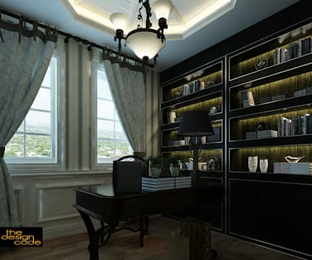 : classic Study/office by The Design Code