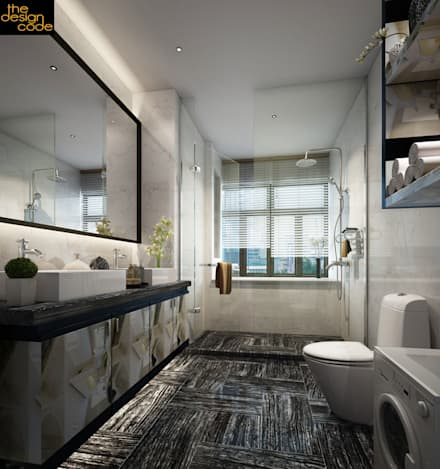 classic bathroom by the design code - Bathroom Interior Design Ideas