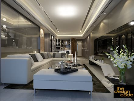 Classic Living Room By The Design Code