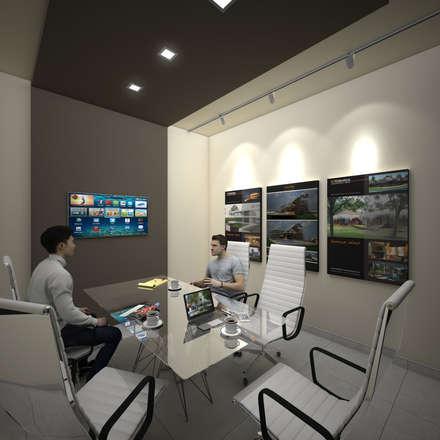 Oficinas y comercios de estilo minimalista arquitectura for Oficinas minimalistas