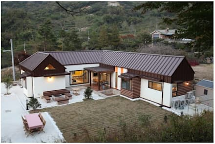 Country house by Mijin Lee - Homify