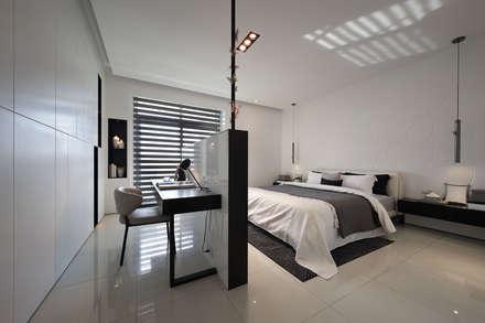 scandinavian Bedroom by 奇承威設計事業