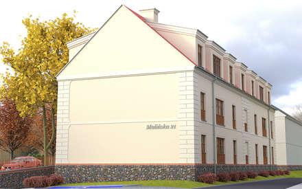 Многоквартирные дома в . Автор – 05PM-ARCHITEKT