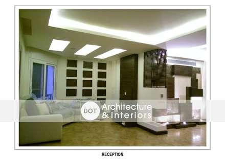 :  الممر والمدخل تنفيذ DOT Architecture and Interior
