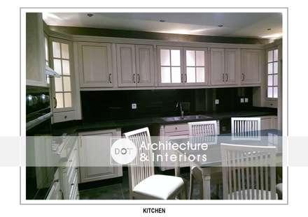 :  مطبخ تنفيذ DOT Architecture and Interior
