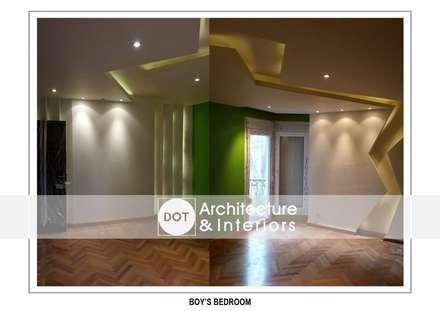 :  درجات وأروقة تنفيذ DOT Architecture and Interior