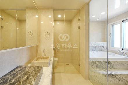country Bathroom by 코원하우스