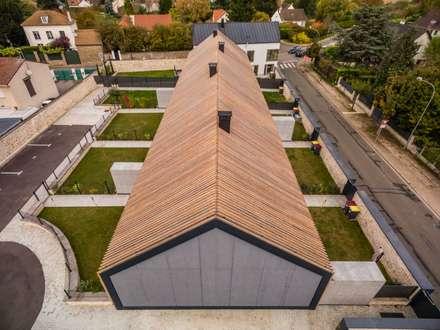 سقف جمالون تنفيذ Rusticasa