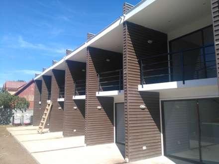 cabañas El Quisco: Hoteles de estilo  por construcciones costa