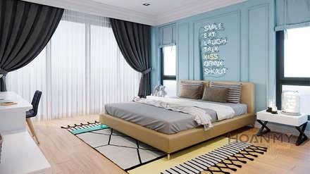 Thương hiệu Nội Thất Hoàn Mỹ: Phòng ngủ by Thương hiệu Nội Thất Hoàn Mỹ