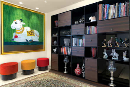 Premium home designs: asian Study/office by Bric Design Group