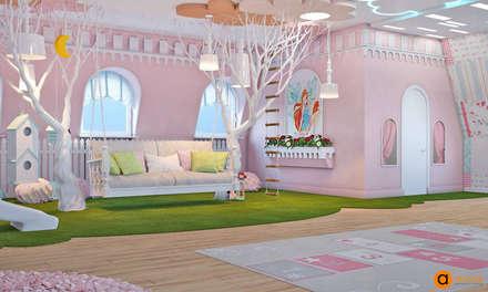 Girls Bedroom by Art-i-Chok