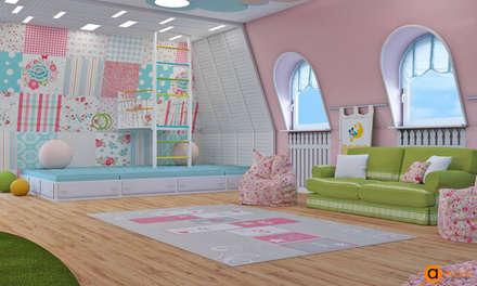 Сказочный дизайн детской: Спальни для девочек в . Автор – Art-i-Chok