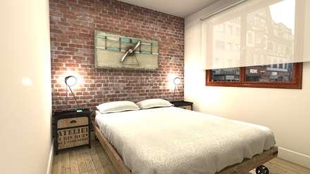 Dormitorio Principal: Dormitorios de estilo industrial de M2 Al Detalle