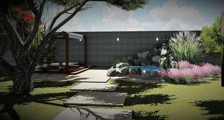 حديقة Zen تنفيذ Trivisio Consultoria e Projetos em 3D