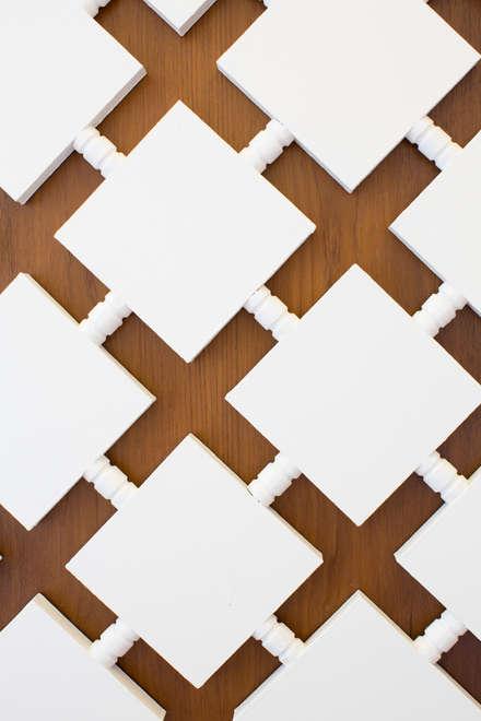 Quirky Flat : Hackney:  Doors by Cassidy Hughes Interior Design