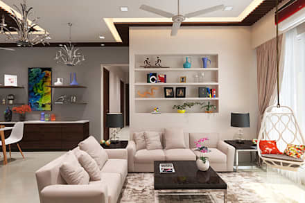 Living Room: Modern Living Room By The Inside Stories   By Minal