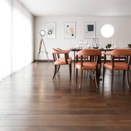 Antique Oak Engineered Flooring:  Commercial Spaces by Woodflooring Engineered Ltd