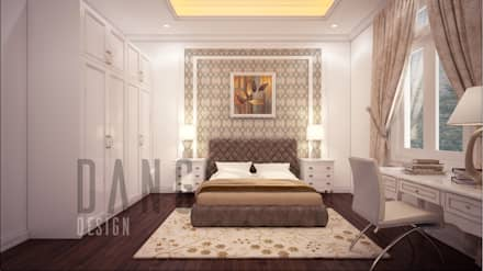 asian Bedroom by DCOR