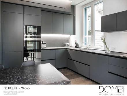 BD House: Cucina in stile in stile Minimalista di DOME studio