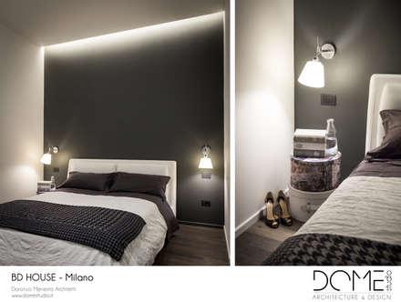 BD House: Camera da letto in stile in stile Minimalista di DOME studio