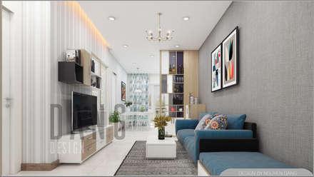 Salas / recibidores de estilo asiático por DCOR