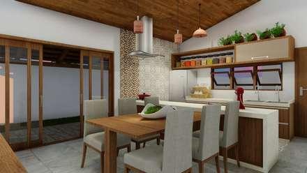 Unit dapur by AD Arquitetura & Interiores