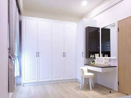 水木空間設計:  臥室 by 水木空間設計