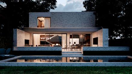 Country house by Архитектурная студия Чадо